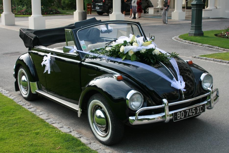 decoration voiture mariage coccinelle id es et d 39 inspiration sur le mariage. Black Bedroom Furniture Sets. Home Design Ideas